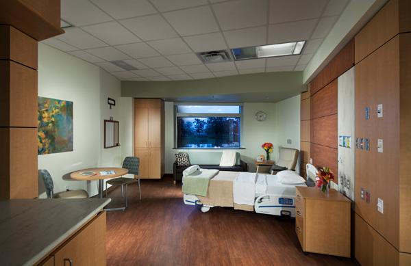 Inpatient High Risk Rooms | Woman's Hospital | Baton Rouge, LA